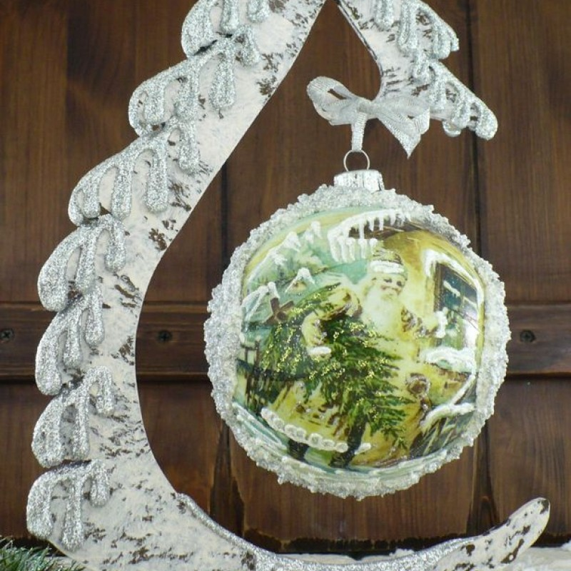 "Ball in the style of ""Decoupage"" art. 0877"