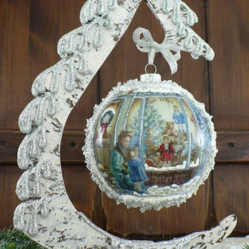"Ball in the style of ""Decoupage"" art. 0884"