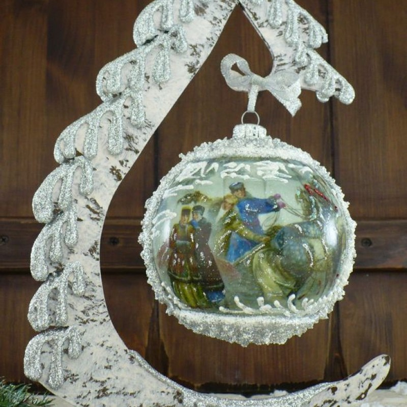 "Ball in the style of ""Decoupage"" art. 0895"
