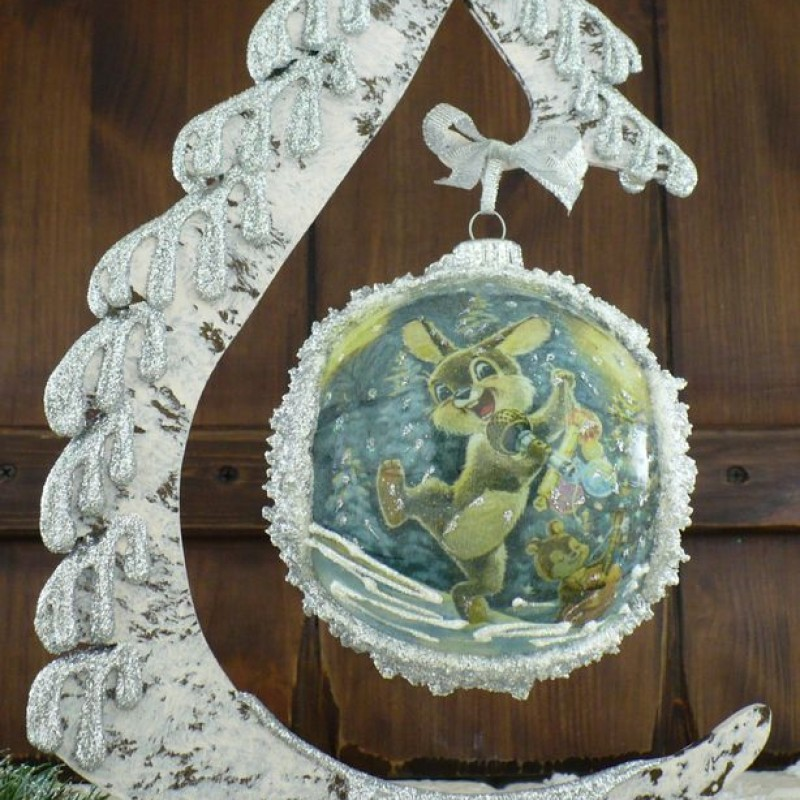 "Ball in the style of ""Decoupage"" art. 0955"