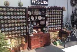 Exhibition of handmade balls in Moscow 2015